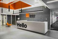 Aperçu des bureaux d'Orange Business Services.
