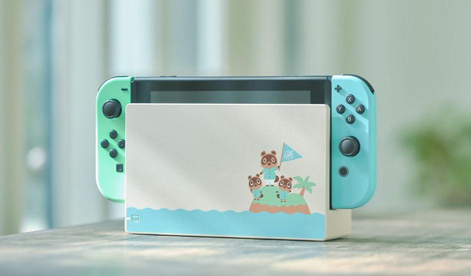 console nintendo switch animal crossing new horizons 20 mars 2020