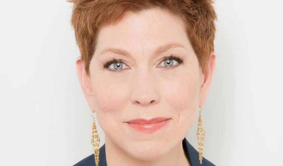 Portrait d'Eileen Naughton, DRH chez Google.