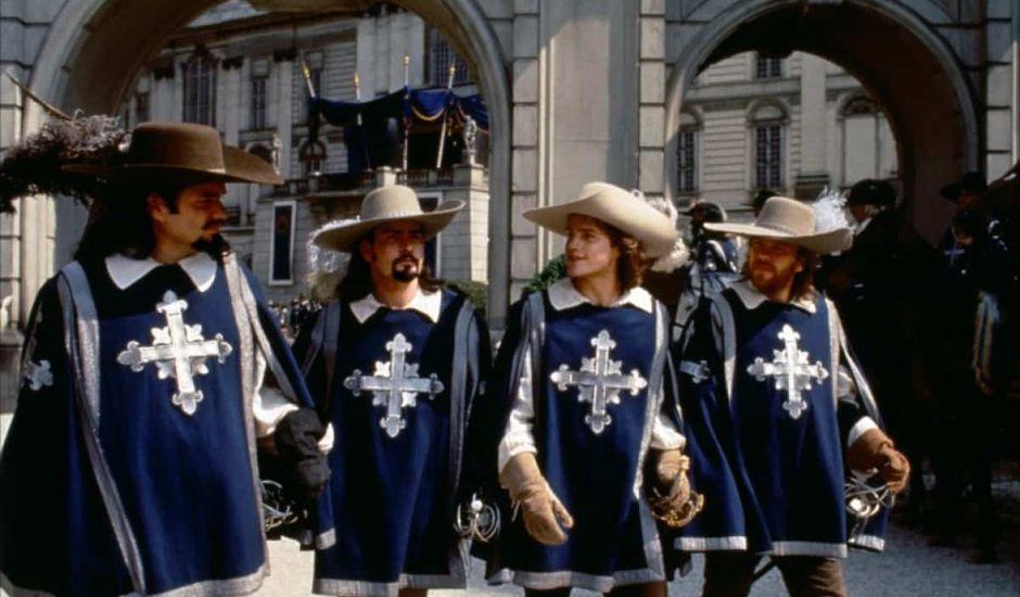 Les Trois Mousquetaires un film de Netflix