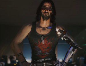 Johnny Silverhand dans Cyberpunk 2077