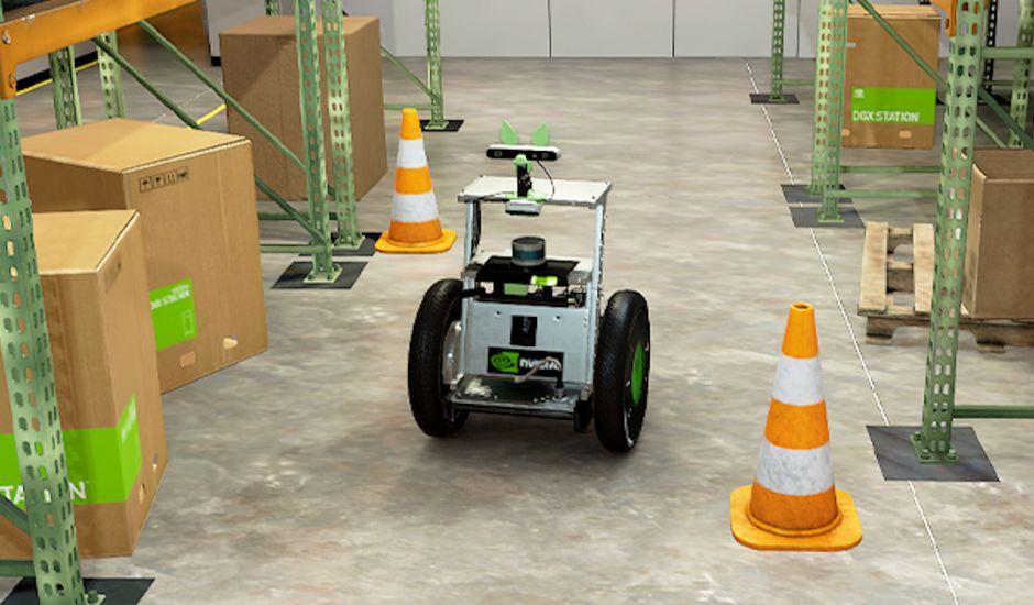 Nvidia Isaac SIM va entraîner les robots