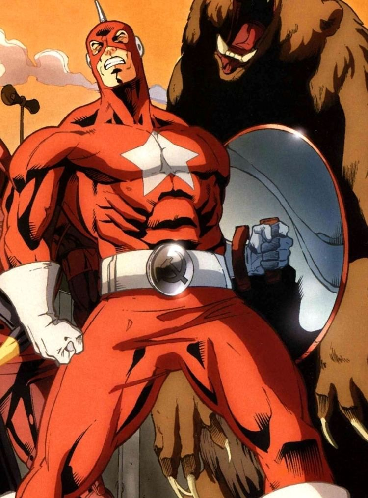 red guardian comics marvel