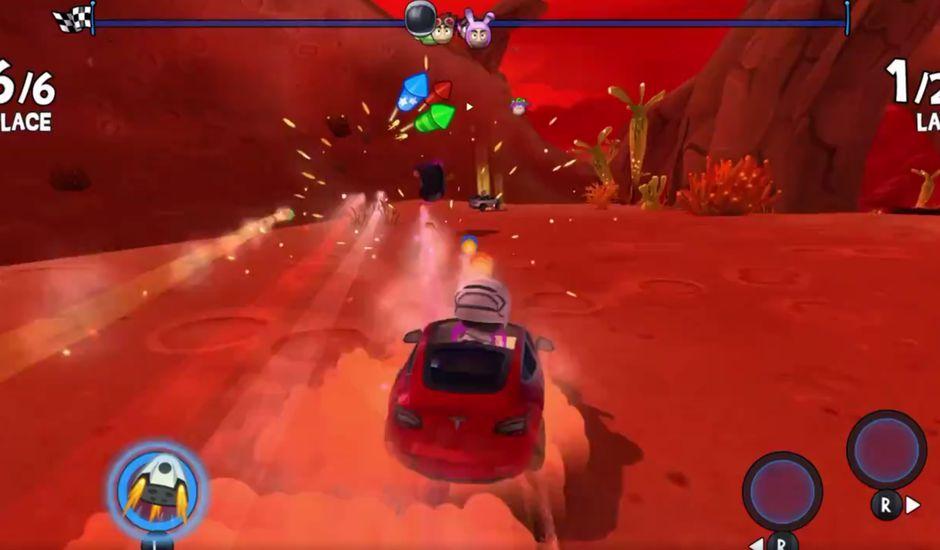 Tesla lance un jeu vidéo qui se contrôle avec les vraies commandes du véhicule.