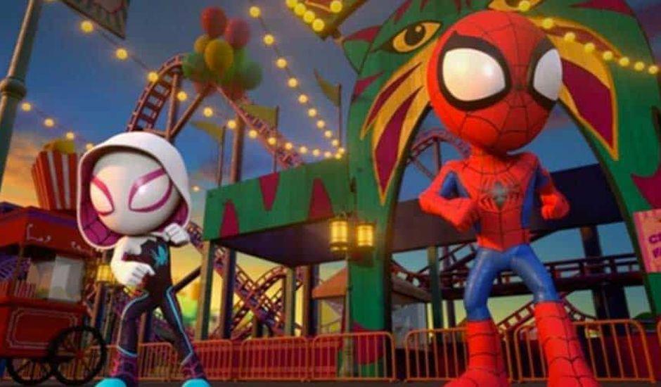 série animée spider-man sur disney junior
