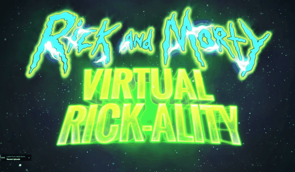 Rick Morty VR