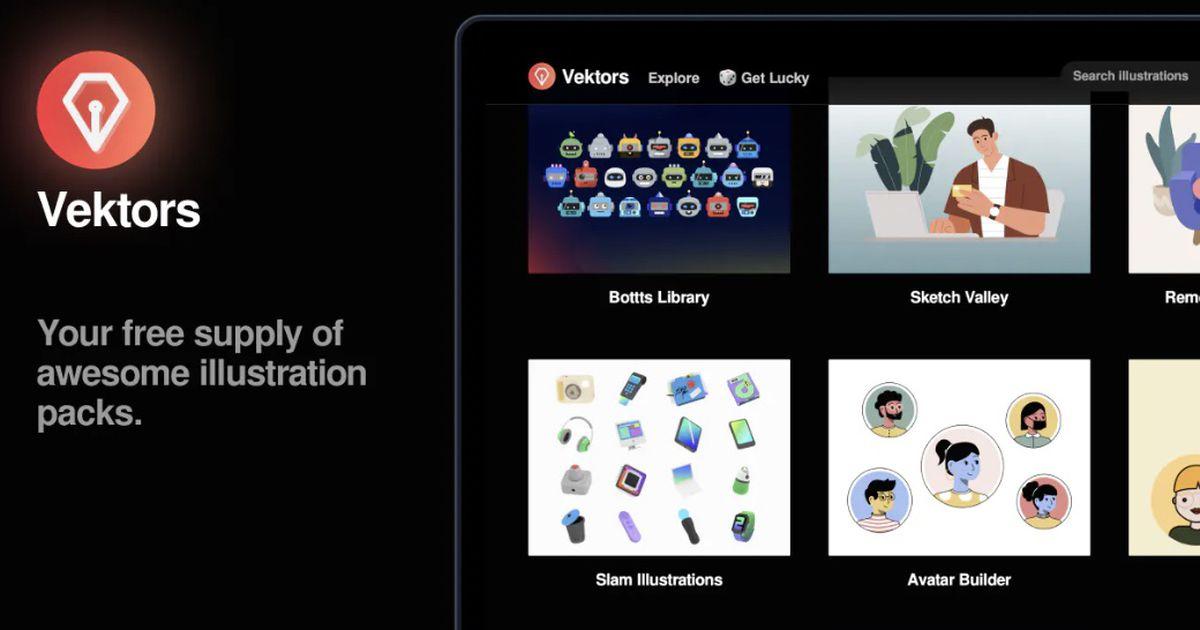 Vektors : des packs d'illustrations gratuits pour tous les projets !
