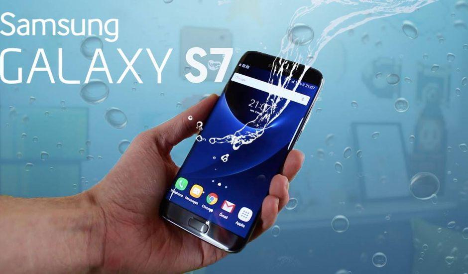 Samsung Galaxy S7 étanchéité