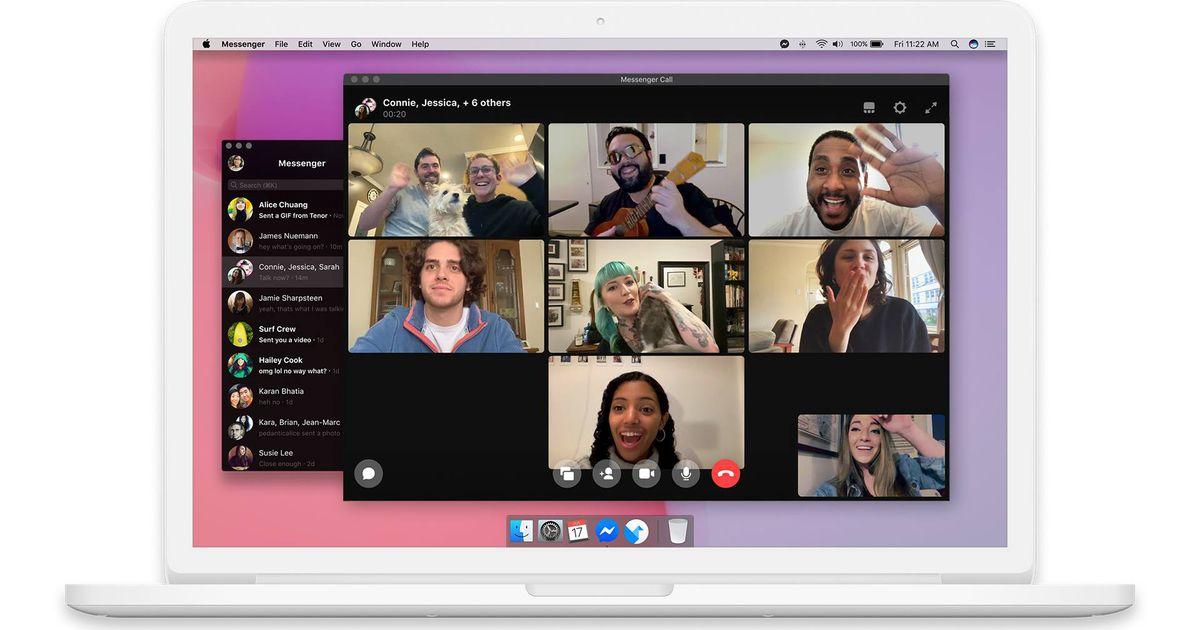 L'application Messenger est enfin disponible sur macOS et Windows