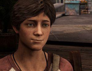 Nathan Drake jeune dans Uncharted