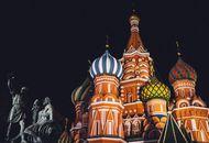 La Cathédrale Basile-le-Bienheureux en Russie.