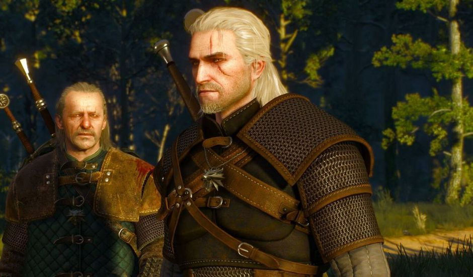 vesemir geralt the witcher nightmare of the wolf