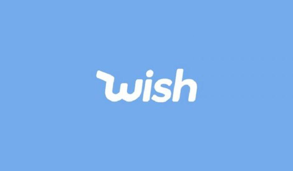Le logo de Wish.
