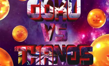 Goku versus Thanos
