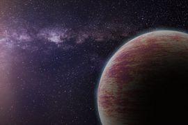De la vapeur découverte sur une exoplanète.