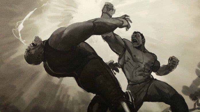 avengers endgame hulk vs thanos