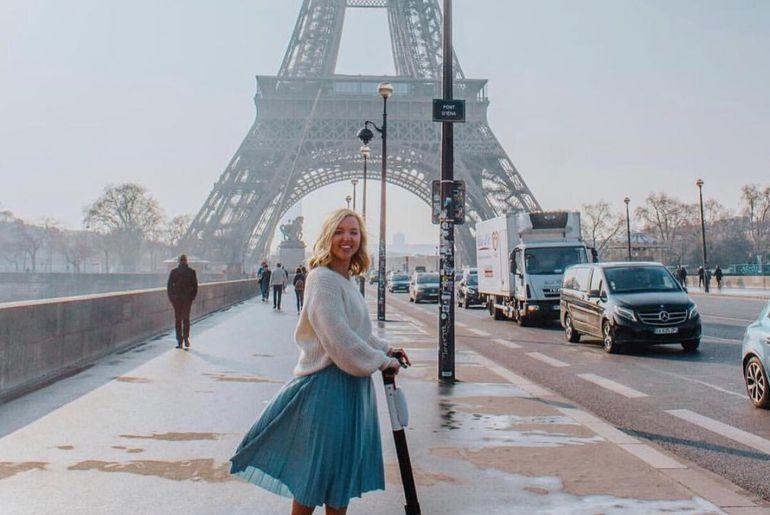 Bird Paris Tour Eiffel