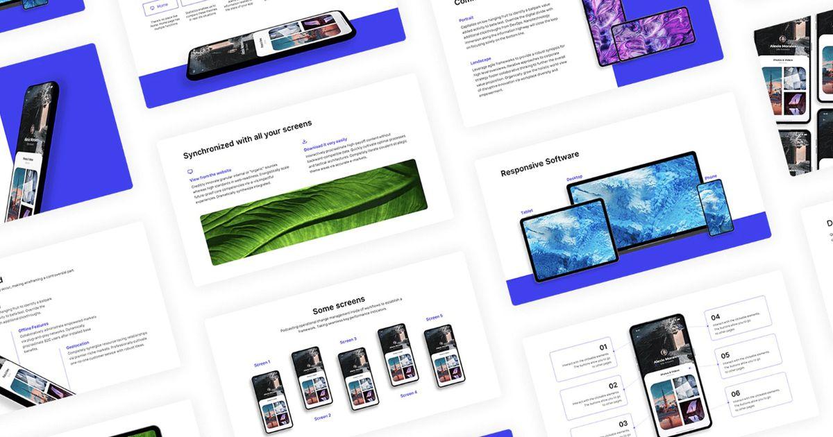 Selfone : LE template PowerPoint, Google Slides et Keynote gratuit et personnalisable !