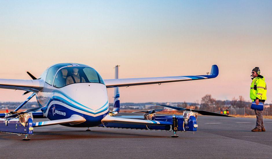 Boeing fait des premiers essais avec ses taxis volants.