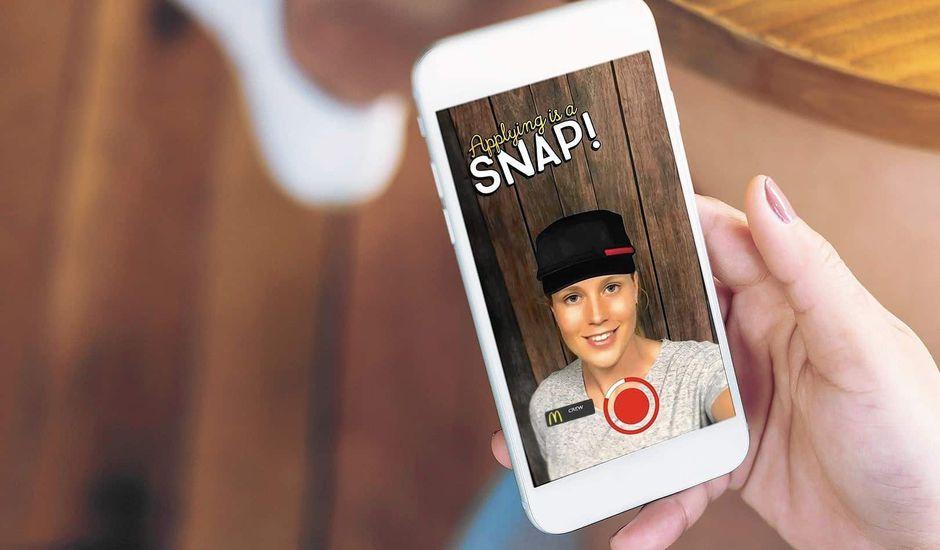 snapchat mcdonald's
