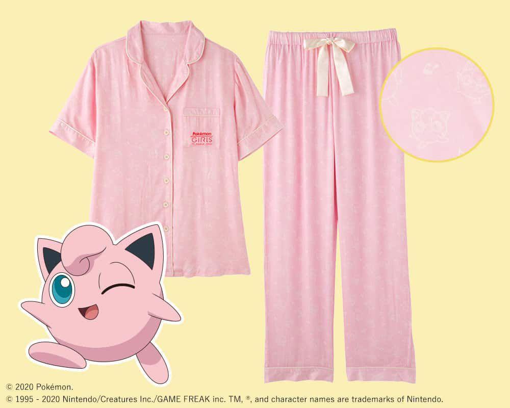 pyjama Rondoudou pour la collection Pokémon Girls de Peach John