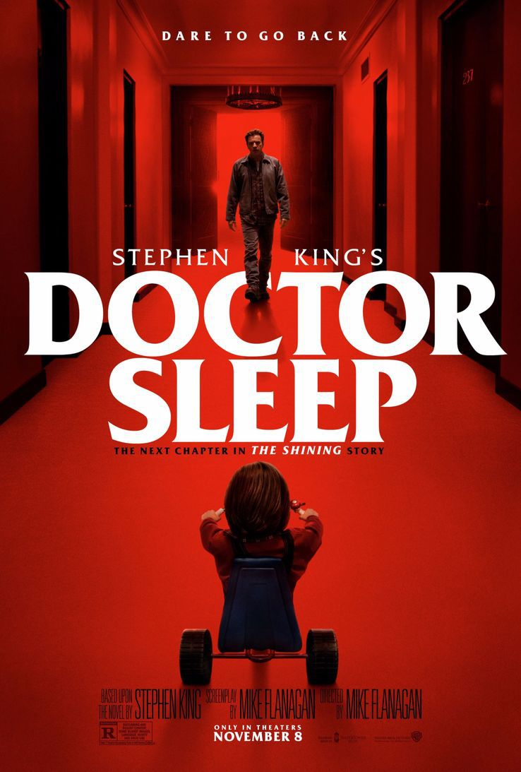 docteur sleep et l'hôtel Overlook de The Shining