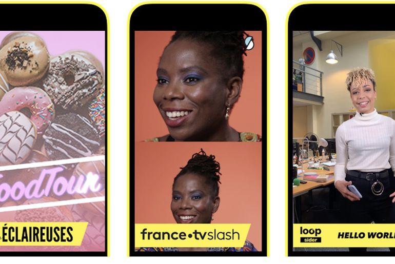 Snapchat annonce l'arrivée de 18 shows en France
