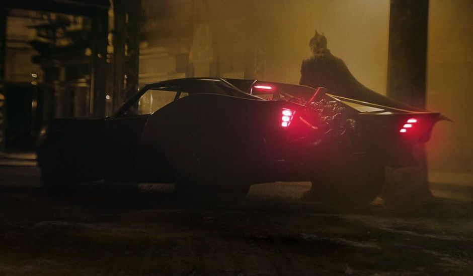 Image de tournage de The Batman par Matt Reeves