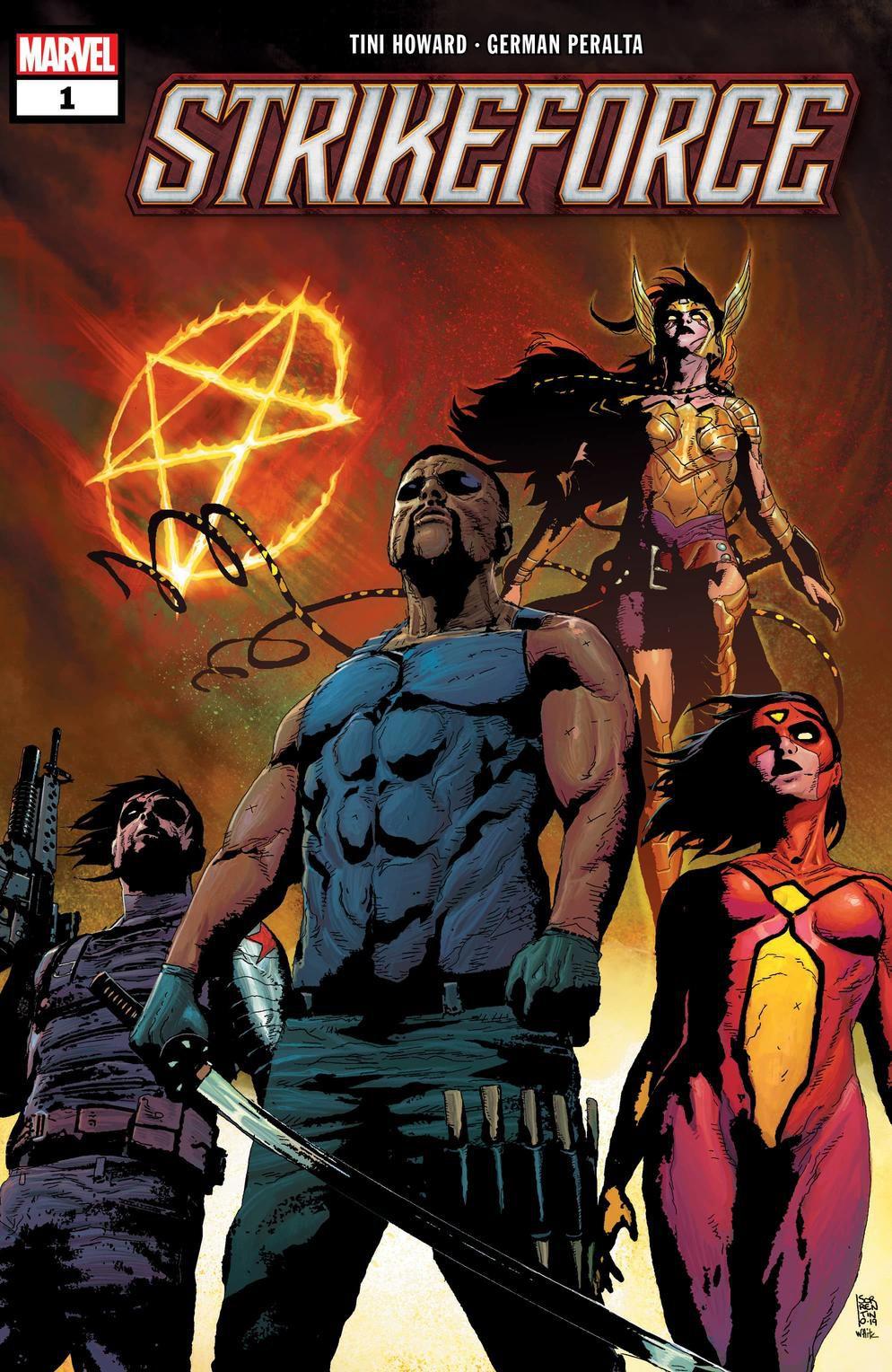 Sorties comics Marvel