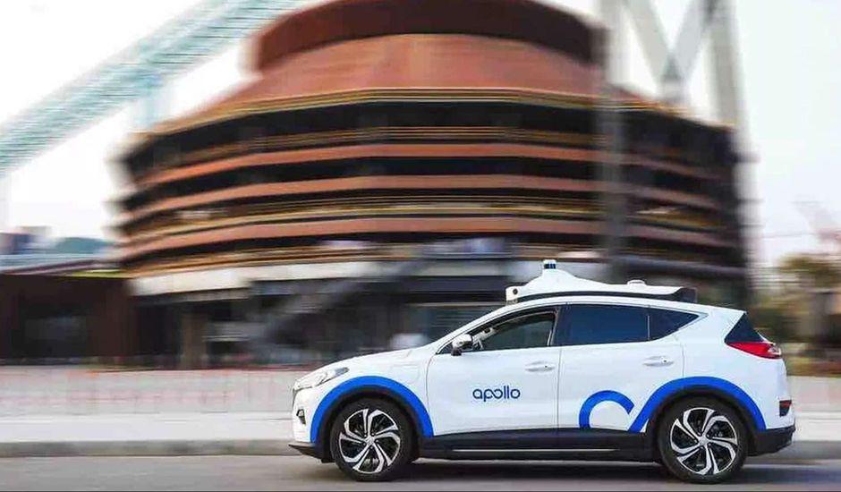 Un véhicule autonome de Baidu.