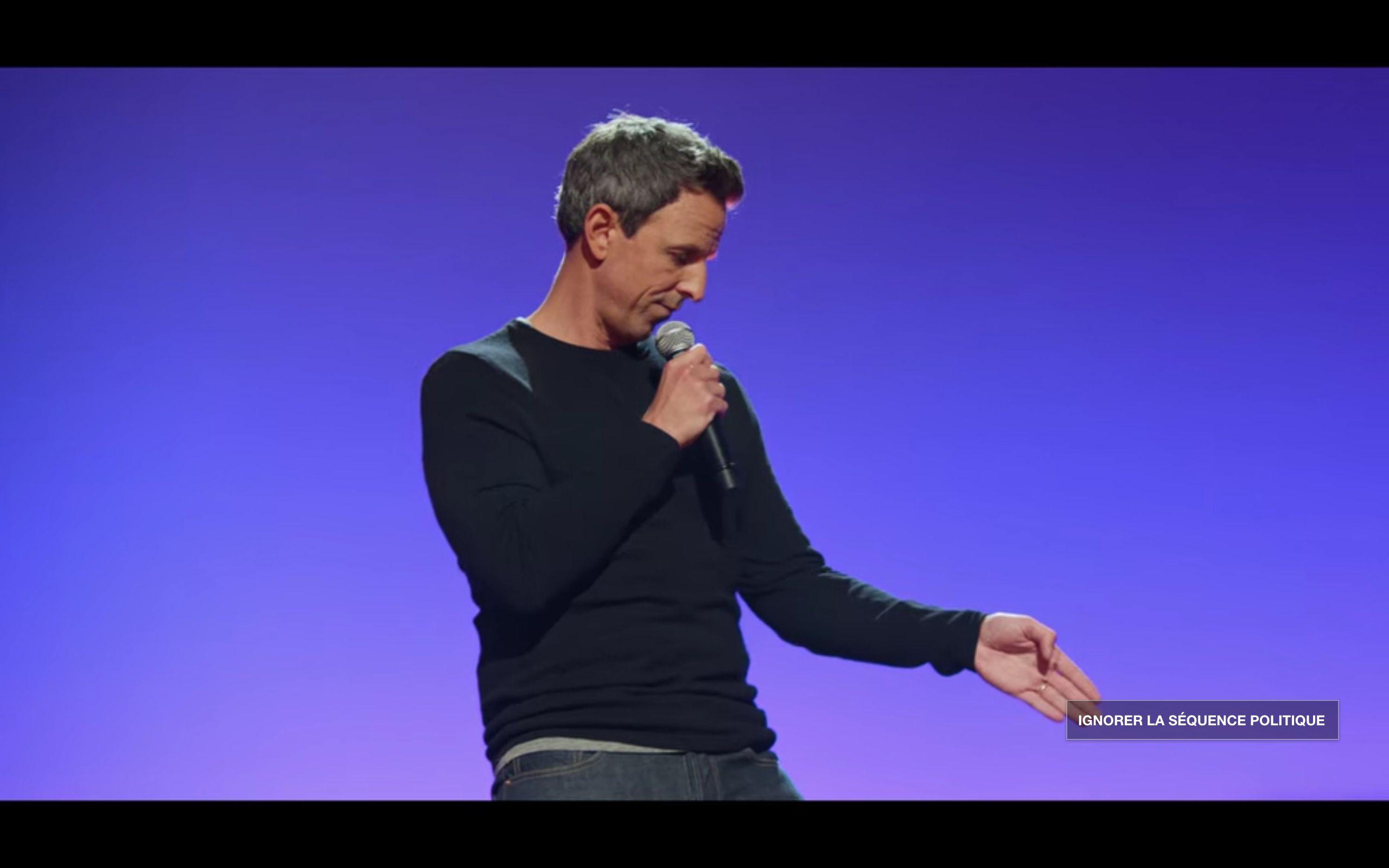 Seth Meyers sur scène
