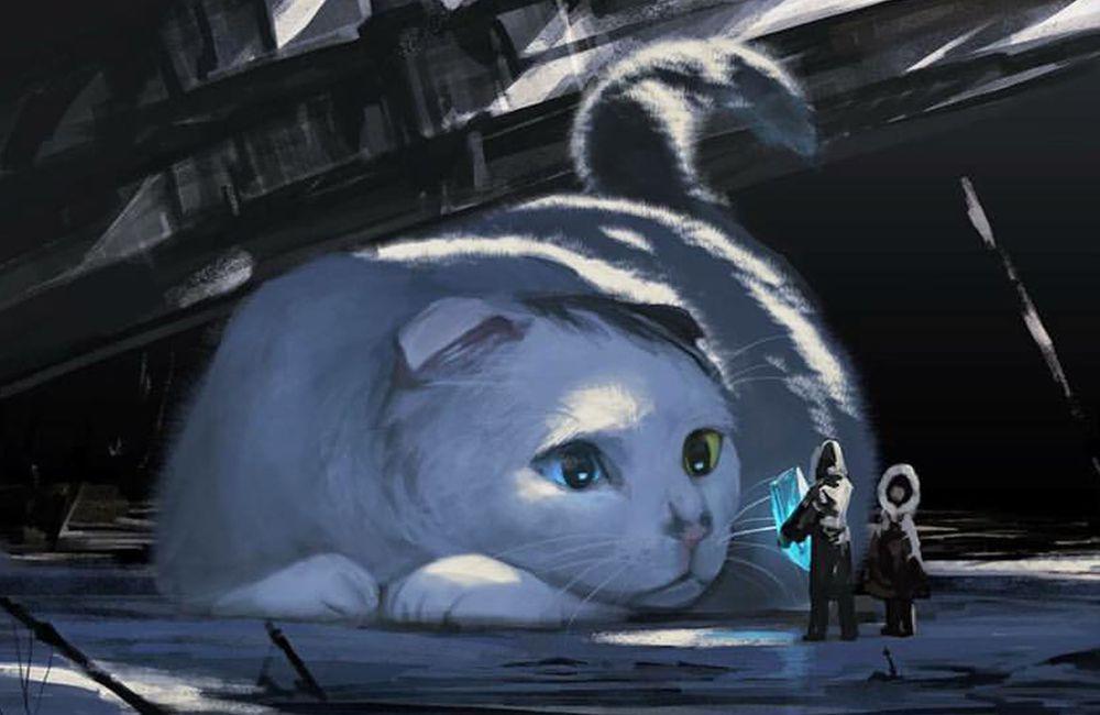 megalophilia art japonais animaux géants humains