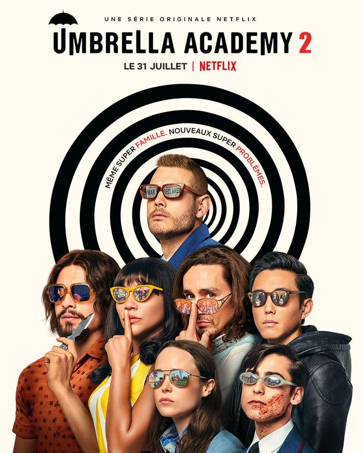 Nouvelle affiche promotionnelle pour The Umbrella Academy
