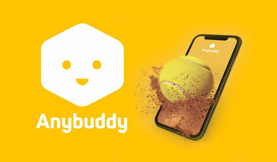 Anybuddy, l'application pour réserver un terrain de tennis