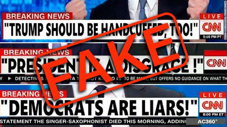 Des reportages de CNN et Fox News falsifiés et diffusés sur YouTube