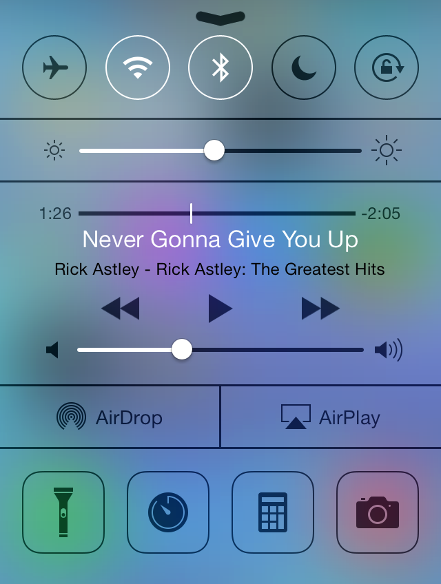 rickroll iOS7 apple iphone