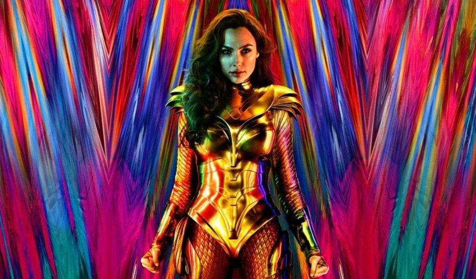 Affiche pour le film Wonder Woman 1984 avec Gal Gadot