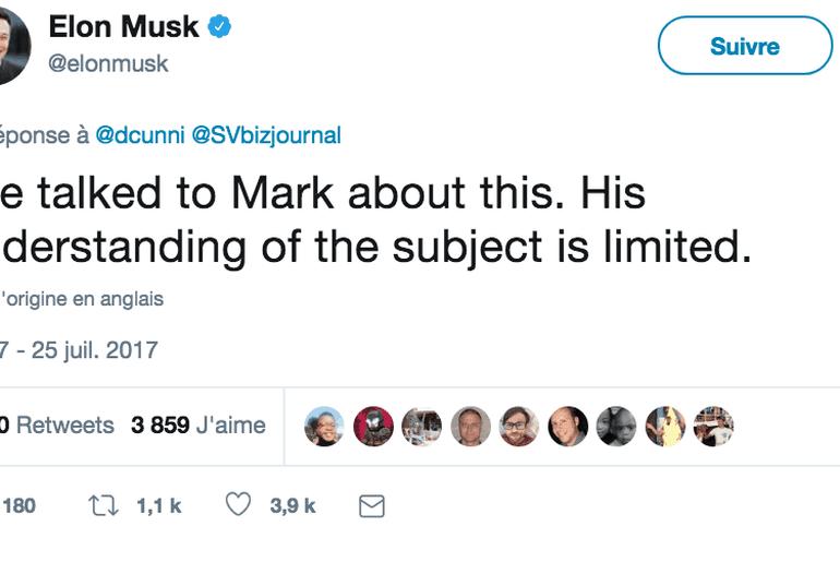 Elon Musk Mark Zuckerberg IA