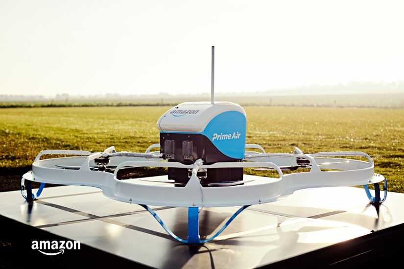 Amazon va tester la livraison par drones en Belgique