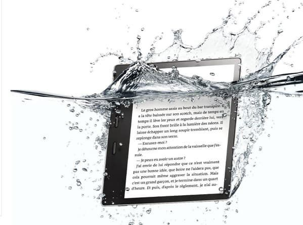 Kindle Oasis d'Amazon