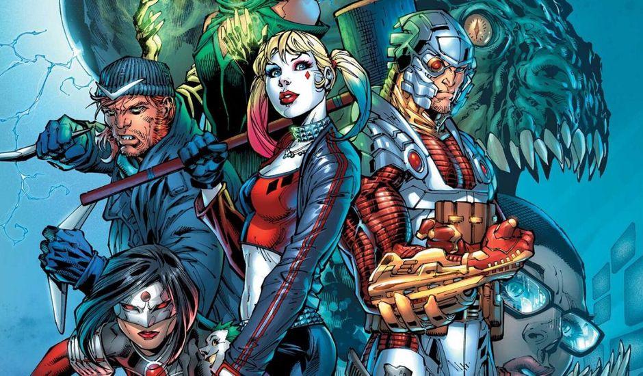 La Suicide Squad, l'équipe de super-vilains, dans les comics