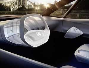 Aperçu d'un véhicule Volkswagen du futur