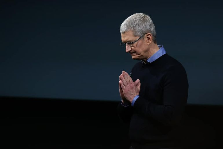 Tim Cook le PDG d'Apple