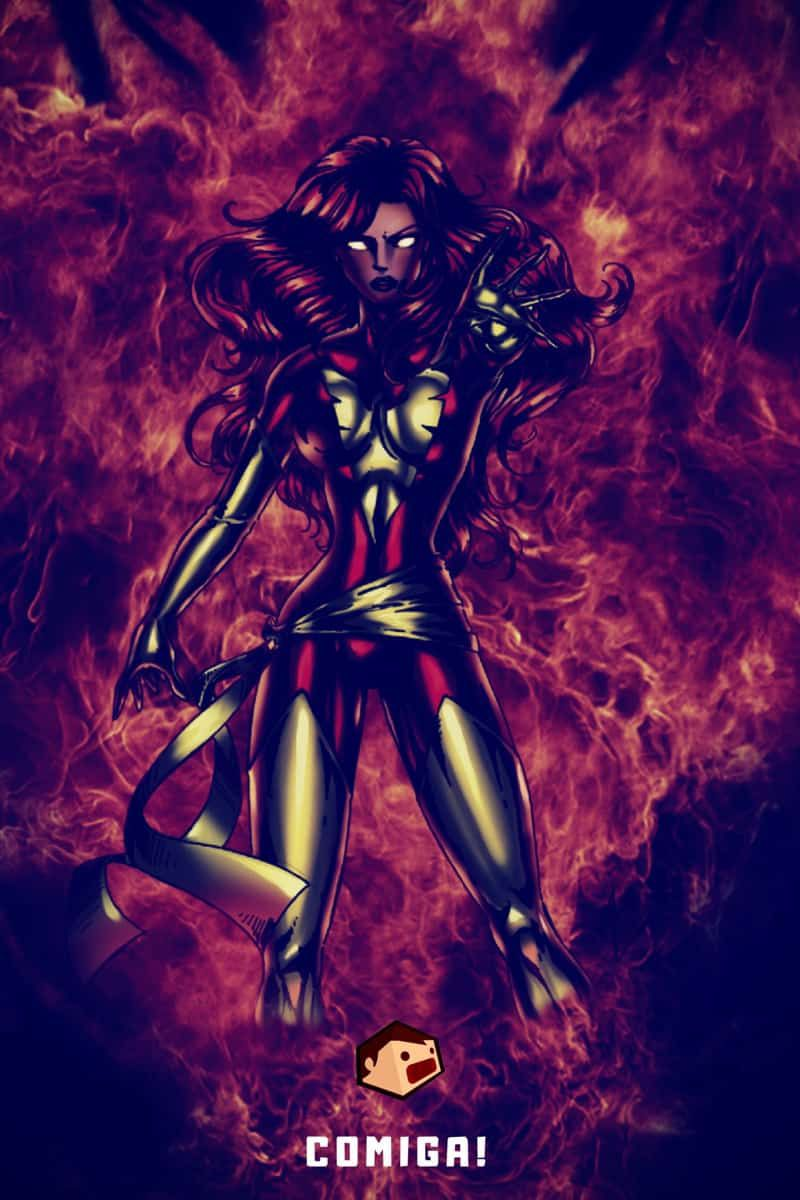 super-vilains marvel comics phoenix