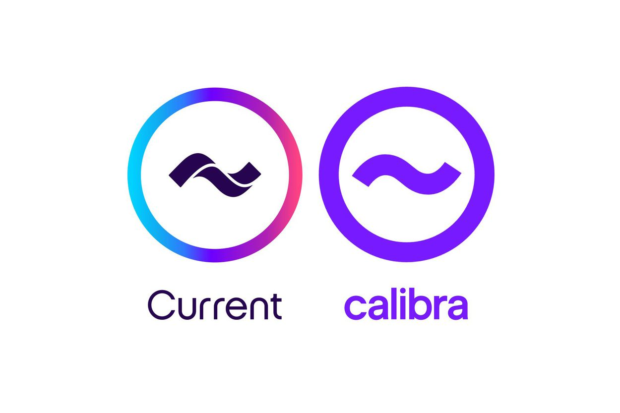 Facebook est accusé d'avoir copié le logo de Current pour créer celui de Calibra
