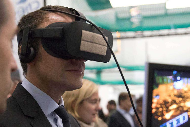 Macron et le numérique