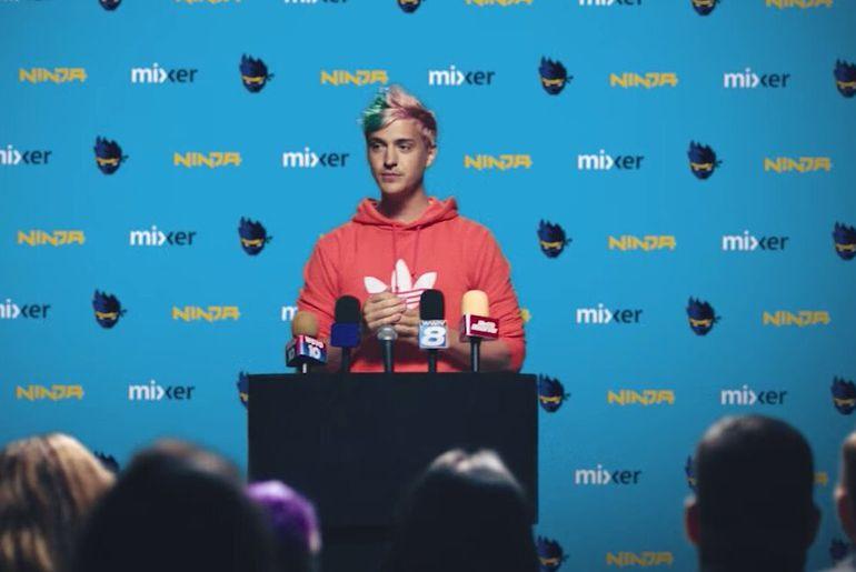 Ninja, le streamer vedette quitte Twitch pour Mixer (Microsoft)