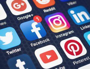 Logo de réseaux sociaux