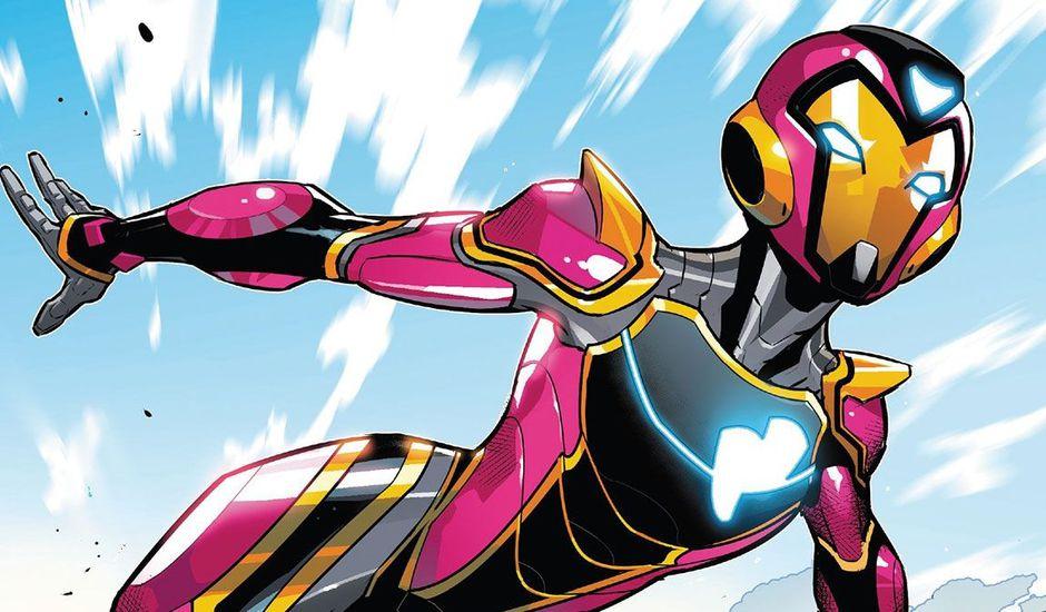 L'héroïne Ironheart dans le comics Ironheart