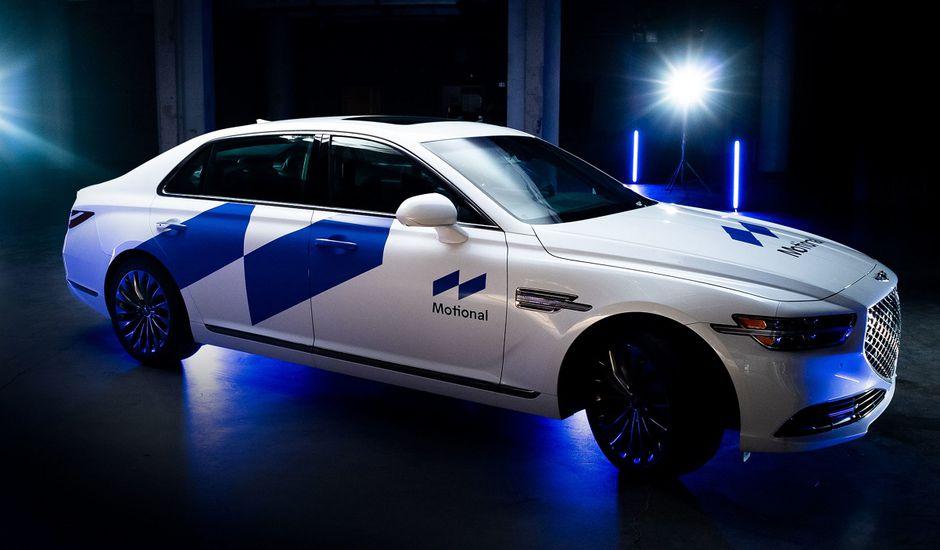 L'un des véhicules autonomes conçut par Motional